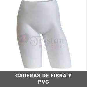 Caderas fibra y PVC
