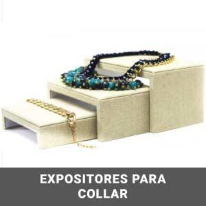 Expositores para collar