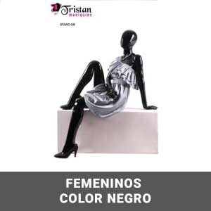 Femeninos color negro
