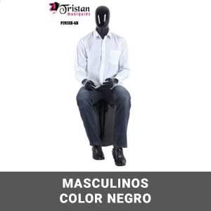 Masculinos color negro